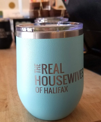 (Pre-order) Real Housewives of Halifax Stainless Tumbler - Teal