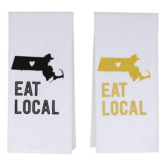 Massachusetts Tea Towels