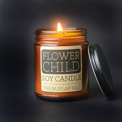 Soy Candle - Flower Child  9 oz