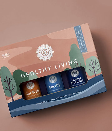 Healthy Living Essential Oil Collection