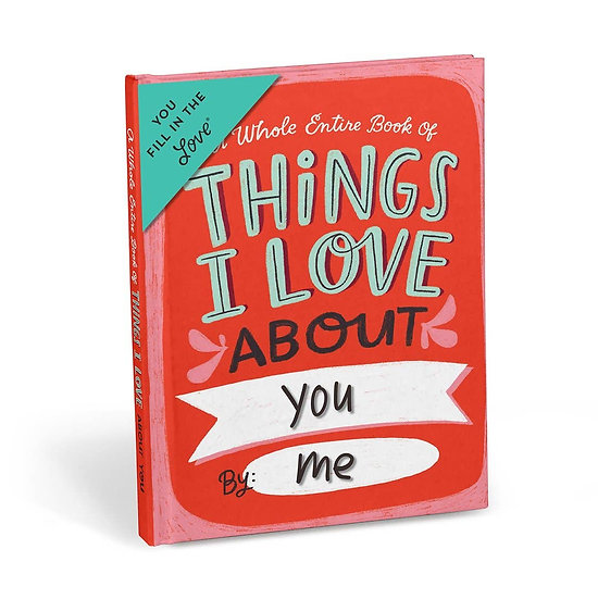 About You Fill in the Love Journal