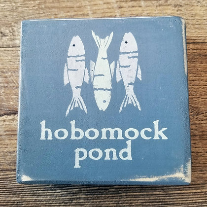 Hobomock Pond Shelf Sitter 5x5