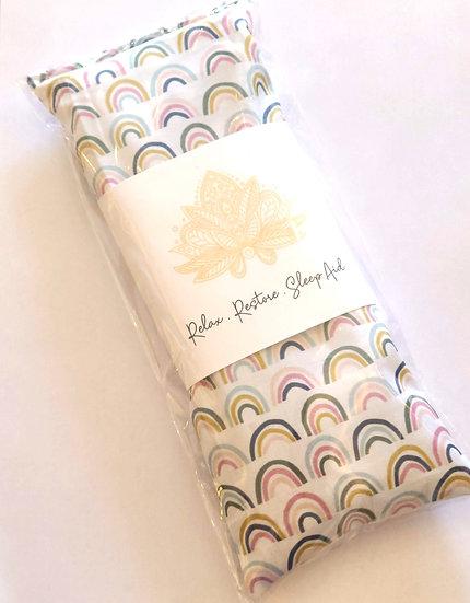 Lavender & Flaxseed Eye Pillow - Rainbow