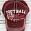 Thumbnail: Hat - Football Mama (Maroon)
