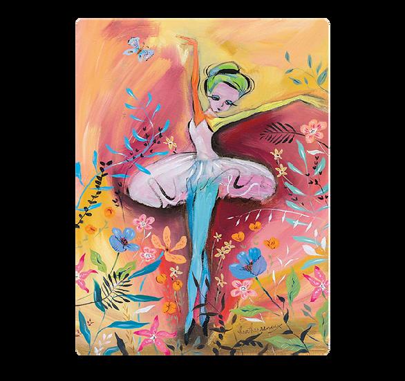 Artists to Watch Vinyl Sticker - Ballerina