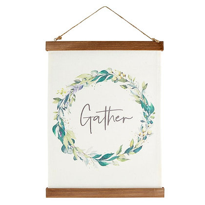 Wall décor - Canvas Banner  - Gather
