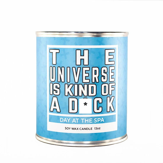 Soy Candle - The Universe Is Kind of a D*ck - 12 oz