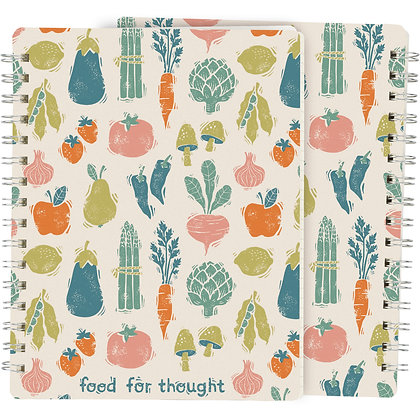 Spiral Notebook - Food For Thought