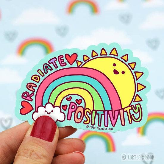 Sticker - Radiate Positivity