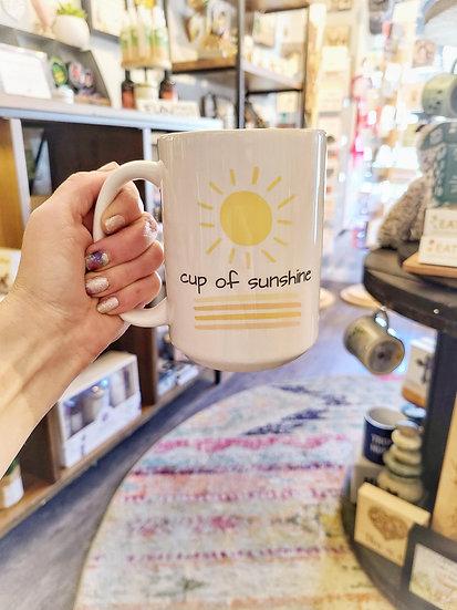 Mug - Cup of Sunshine 15 oz