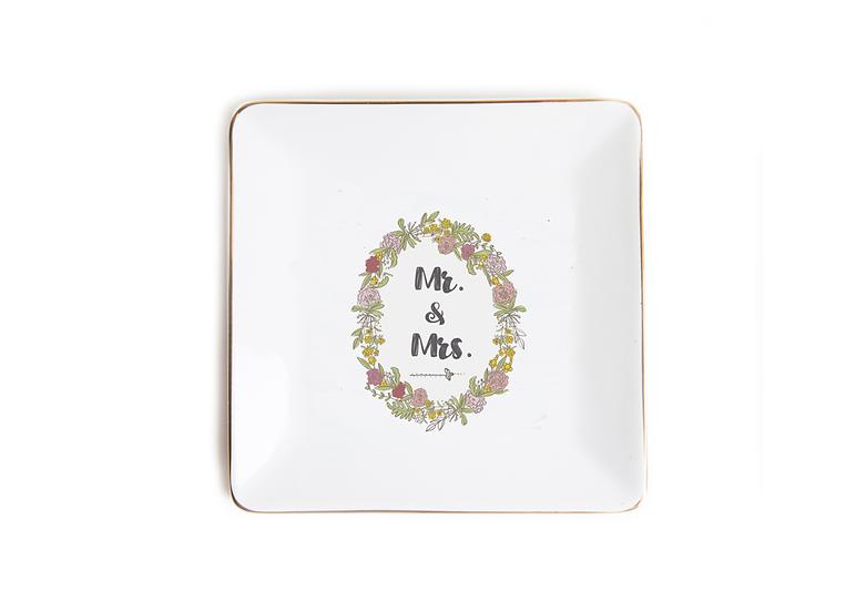 Trinket Dish - Mr & Mrs