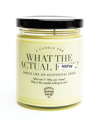 WTF Candle - What the Actual F**k