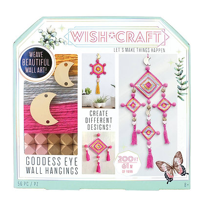 Wish Craft Goddess Eye Wall Hanging