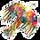 Thumbnail: Artists to Watch Vinyl Sticker - Desert Bird