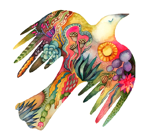 Artists to Watch Vinyl Sticker - Desert Bird