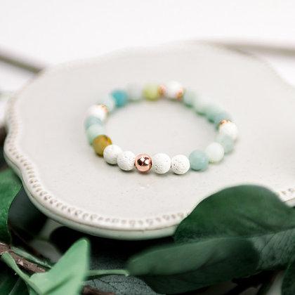 Diffuser Bracelet - Amazonite