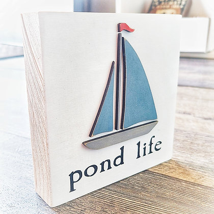 Pond Life Shelf Sitter