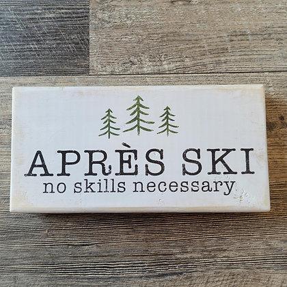 Apres Ski Shelf Sitter 11x5