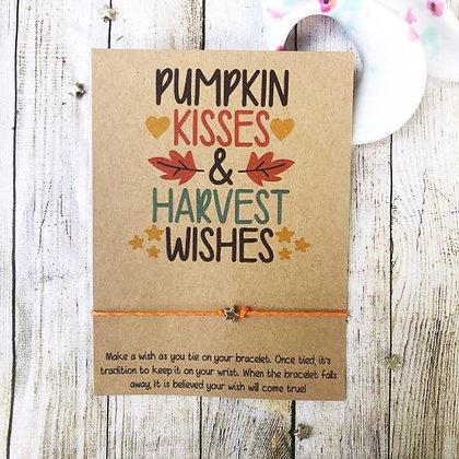 Wishlet - Pumpkin Kisses & Harvest Wishes