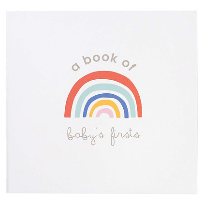 ''A Book of Baby's Firsts'' Memory Book with Ink Pad