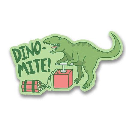Dino-Mite! Vinyl Sticker