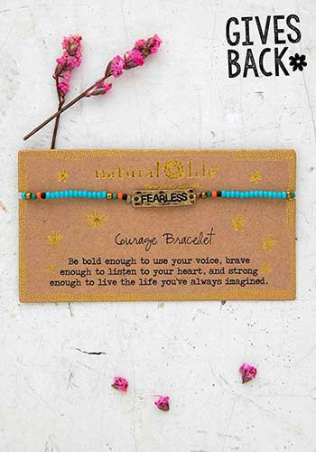 Giving Bracelet - Fearless