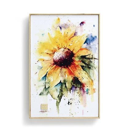 Sunflower Wall Art - 8.25x12.25