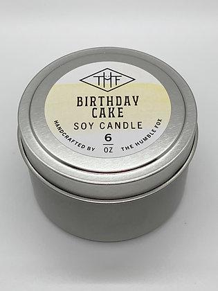 Soy Candle - Birthday Cake 6oz tin