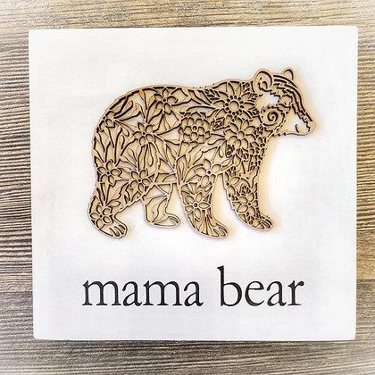 Mama Bear Shelf Sitter