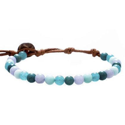 lotus & luna - Healing & Inner Peace 6mm Bracelet
