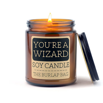 Soy Candle - You Are a Wizard 9 oz