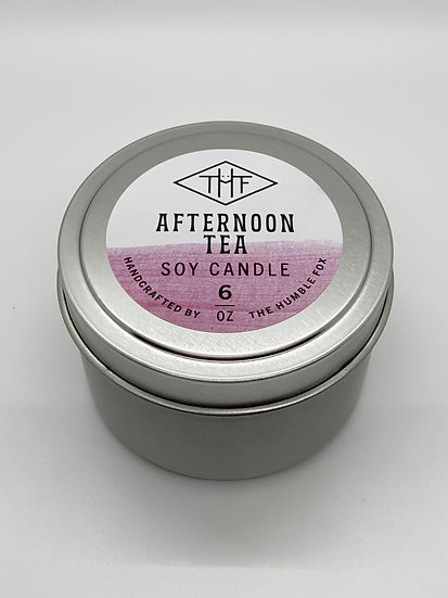 Soy Candle - Afternoon Tea 6oz tin
