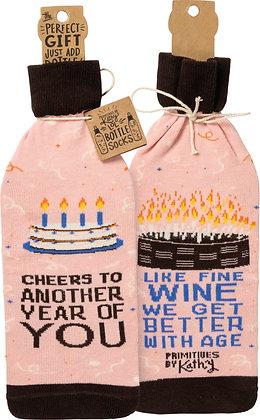 Bottle Sock - Happy Birthday