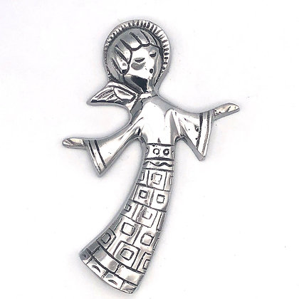 Recycled Aluminum Flying Angel