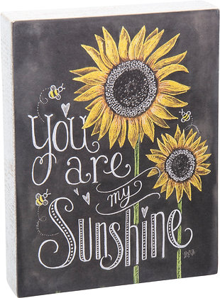 Chalk Sign - You Are My Sunshine