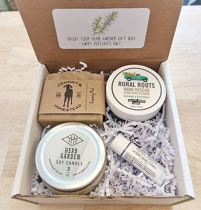 Mother's Day Gift Box - Herb Garden