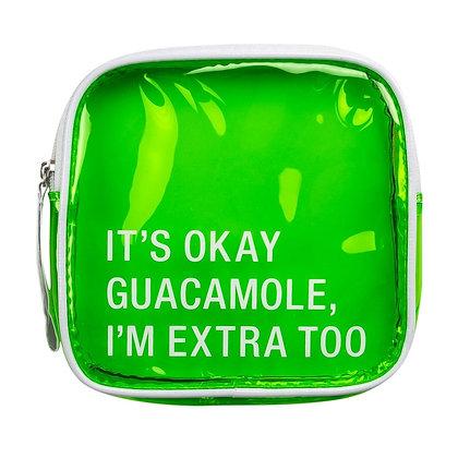 Makeup Bag - It's Okay Guacamole