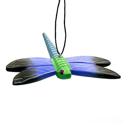 Dragonfly Balsa Ornament
