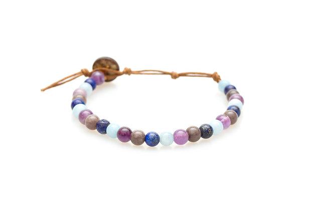 lotus & luna - Wisdom & Vitality 6mm Bracelet