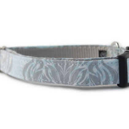 Gray Goddess Dog Collar - Medium