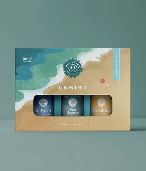 Unwind Essential Oil Collection