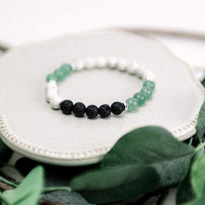 Diffuser Bracelet - Green Aventurine