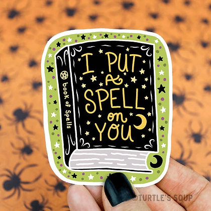 Sticker - Spellbook
