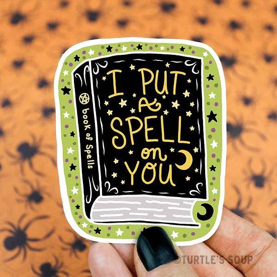 Sticker - Spellbook