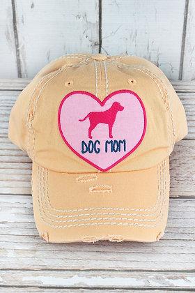 Hat - Dog Mom (Peach)