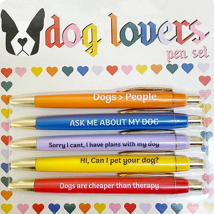Pen Set - Dog Lovers