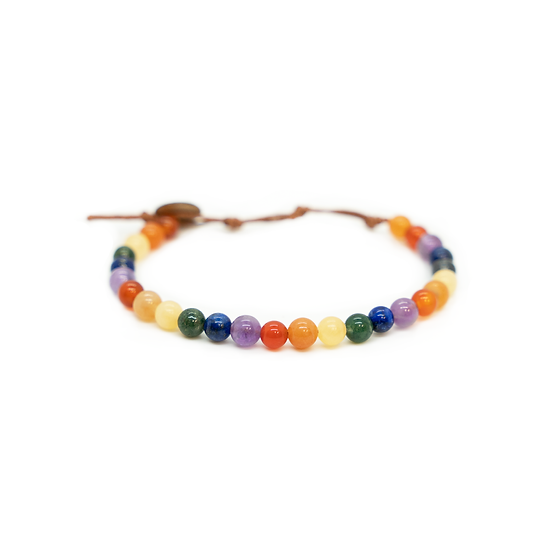 lotus & luna  - Pride 6mm Bracelet