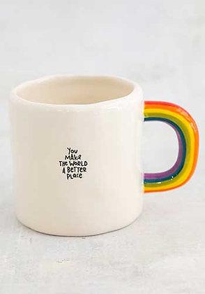 Mug - You Make The World Rainbow