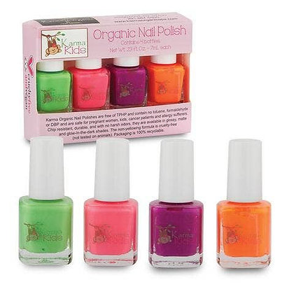 Karma Kids Organic Nail Polish Set - Fresh & Fruity