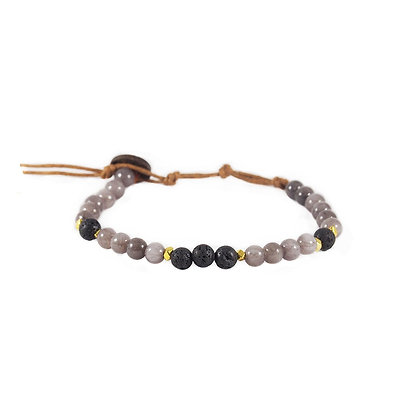 lotus & luna  - Strength & Healing 6mm Bracelet